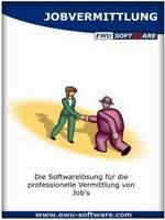 Screenshot vom Programm: EWU Jobvermittlung